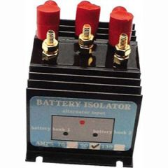 Prosplit D Battery Isolator Split Charge Three Bank 130A