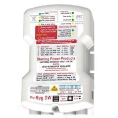 ProReg BW Alternator Regulator Waterproof IP67 4 Step 100A 24/12V