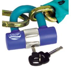 Security Padlock, Weather & Chemical Resistant w/Stazo Plus Cylinder