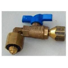 Camping Gaz Adapter US Regulator To European Cylinder Valve