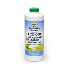 ECO-300 Teak Cleaner ECO Friendly Liquid 1 qt