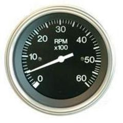Instrument Gauge Oil Heavy Duty Series 140-320 deg 2""