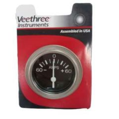 Instrument Gauge Ammeter Heavy Duty Series 0-60A 2""
