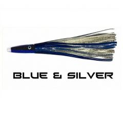 Tormenter Tuna Mahi Killer, Rigged Blue/Silver