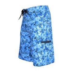Board Short Marlin Camo-Blue Size 34