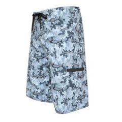 Board Short Marlin Camo-GraySize 34