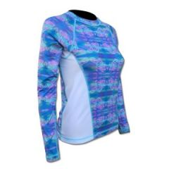 SPF50 Women's Shirt Turtle Print Large