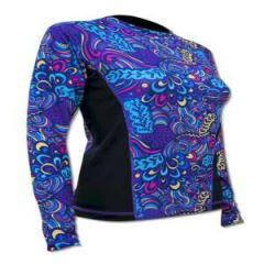 SPF50 Women's Shirt Reef Print Large