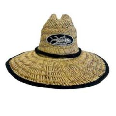 Wide Brim Straw Hat, Large