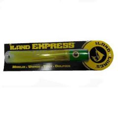 Iland Express Lure Chartreuse w/Green Painted Head