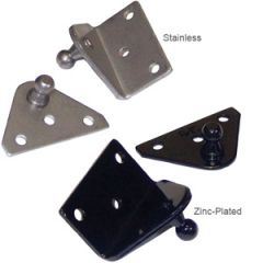"""Mounting Bracket Angled For Gas Spring Stainless Steel 2"""" x 1.25"""""""