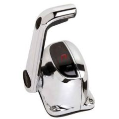 Throttle Control Single W/Trim & Lock Chrome Finish