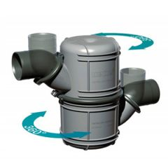 "Exhaust Waterlock NLP50S Plastic Super 50mm (2"")"