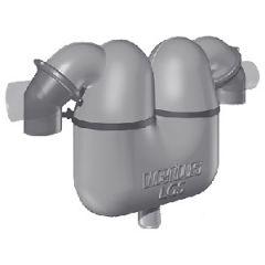 "Exhaust Gas/Water Separator LGS7550 Plastic Rotating 75mm (3"")"