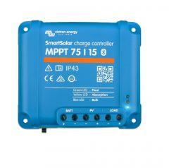 SmartSolar MPPT 75/15 Charge Controller 12/24V 15 amp