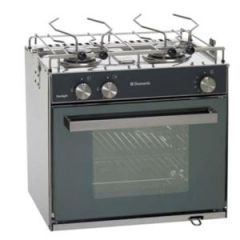 Dometic Stove Sunlight Two Burner w/Oven/Hob Gimballed Propane
