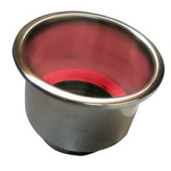 Drink Holder w/red LED light 304 Stainless Steel