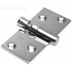 "Take Apart Hinge Locking 316 Stainless Steel 1.5"" x 3 5/8"""