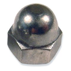 "Cap Nut Stainless Steel 1/4"""