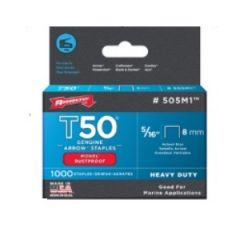"STAPLES - HEAVY DUTY (T50) MONEL 5/16"" - 1000PK"