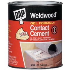 Weldwood Contact Cement Liquid 1 gal
