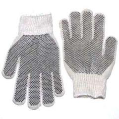 Gloves Black Dot Large