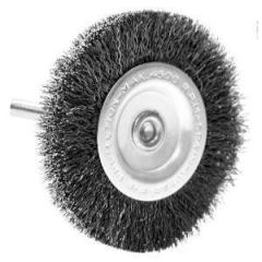 Radial Wire Brush 3""