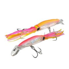 "Sashimi 3D Squirt Lure Chameleon Hot Pink Floating 7 1/2"" 1 3/8 oz"