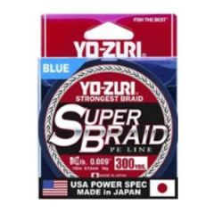 Yo-Zuri Superbraid Blue 40lb Test, 300yd
