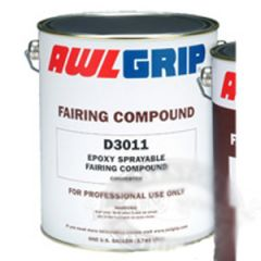 Epoxy Sprayable Fairing Compound D6001Two Part Liquid 1 gal