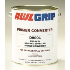 Awl-Quik Sanding Surfacer Primer Converter D9001 Two Part Liquid 1 gal