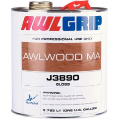 Awlwood MA Clear Gloss Finish J3890 Liquid 1 qt