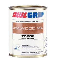 Awlwood Brush Reducer T0201 Slow Evaporating Liquid 1 qt